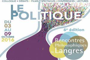 rencontres philosophiques de Langres 2016