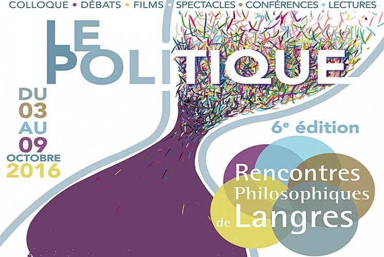 Discut aux Rencontres Philosophiques de Langres